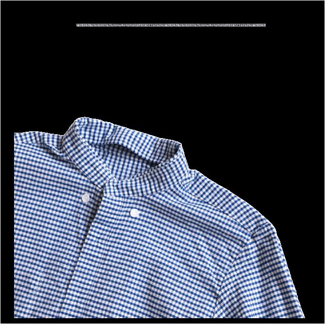 ソンタク SONTAKU オックスフォードギンガムチェックボタンダウンシャツ