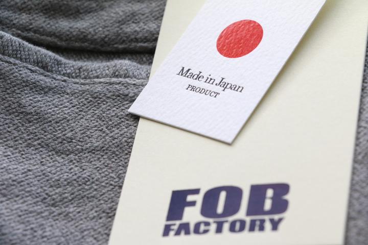 エフオービーファクトリー FOB FACTORY RELAX NARROW EASY PANTS リラックスナローイージーパンツ グレイ F0438