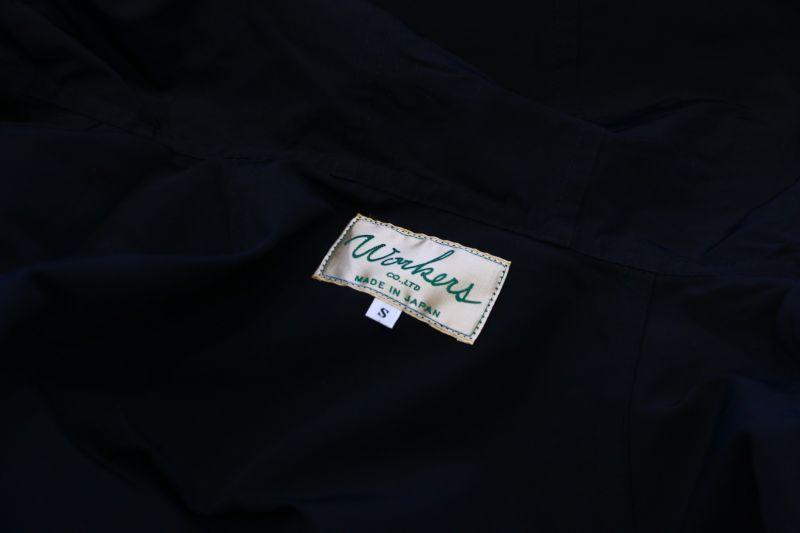 ワーカーズ WORKERS Mountain Shirt Parka, Black マウンテンシャツパーカ