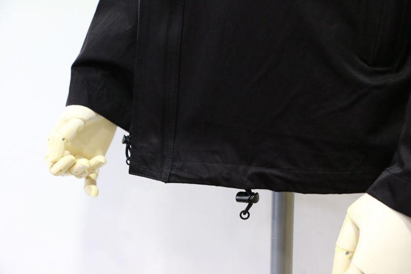 エフオービーファクトリー FOB FACTORY YACHT PARKA ヨットパーカ ブラック F2336