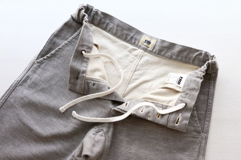 エフオービーファクトリー FOB FACTORY RELAX SWEAT PANTS リラックススウェットパンツ グレイ F0404