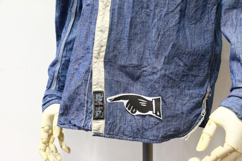 エフオービーファクトリー FOB FACTORY CHAMBRAY WORK SHIRTS シャンブレーワークシャツ F3166