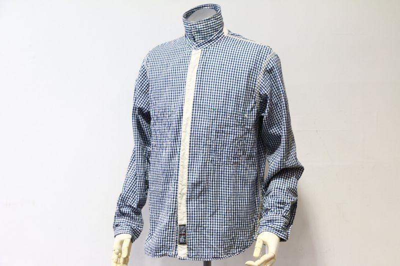 エフオービーファクトリー FOB FACTORY GINGHAM WORK SHIRT ギンガムチェックワークシャツ F3208