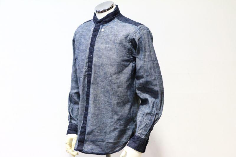 SONTAKU ソンタク DENIM B.D SHIRT デニムボタンダウンシャツ