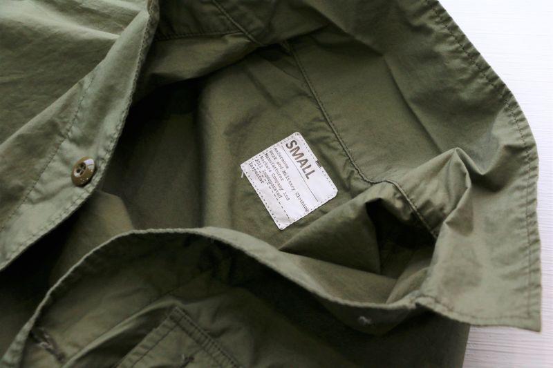 WORKERS ワーカーズ Fatigue Jacket MOD, Poplin, OD ファティーグジャケット MOD ポプリン OD