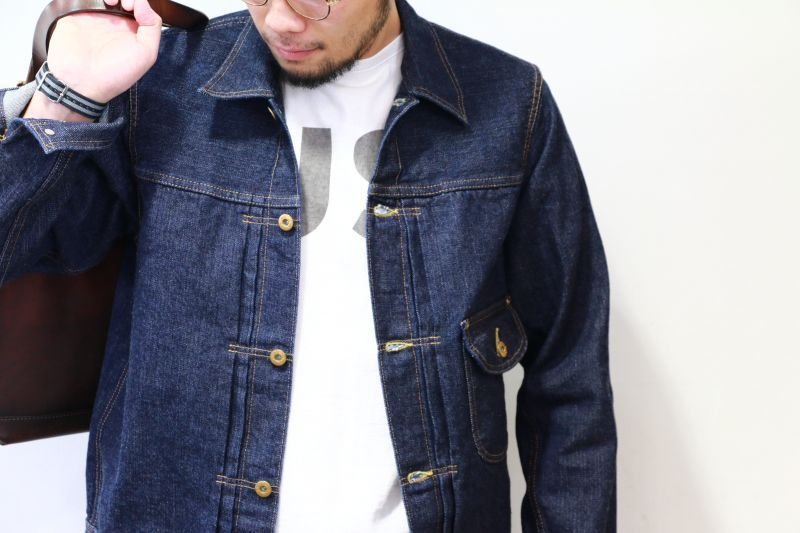 WORKERS ワーカーズ Cowboy Jacket, 13.75 Oz, Left-Hand Weave, Raw Denim カウボーイジャケット