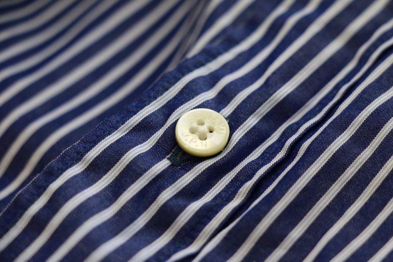 ソンタク SONTAKU Broad cloth b.d shirt ブロードボタンダウンシャツ