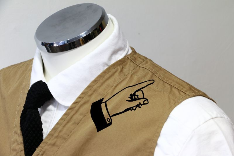 WORKERS ワーカーズ Hunting Vest, 8 Oz Denim ハンティングベスト