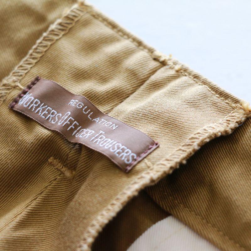 WORKERS ワーカーズ Officer Shorts,USMC Khaki オフィサーショーツ