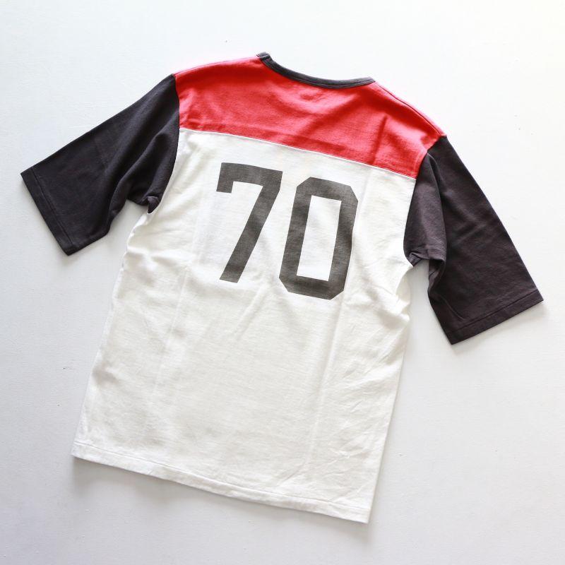 パインツリー PINE TREE CO.  No.70 FOOTBALL Tee 5分袖 フットボールTee