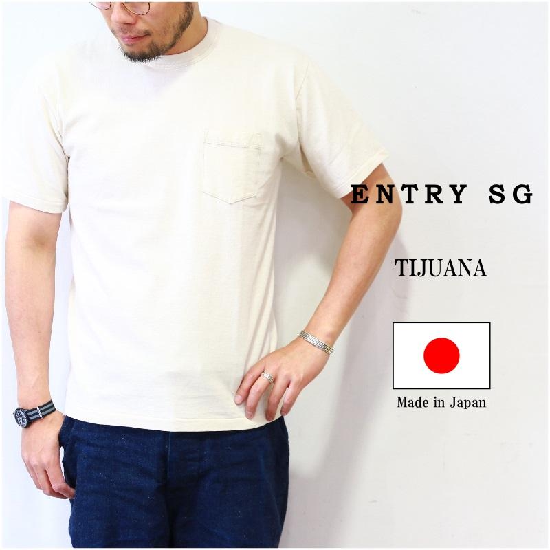 ENTRY SG エントリーSG TIJUANA ポケット S/S Tee