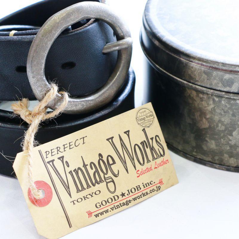 Vintage Works ヴィンテージワークス Leather belt レザーベルト