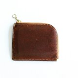 Aging sample   Vintage Works  Leather Wallet  BROWN