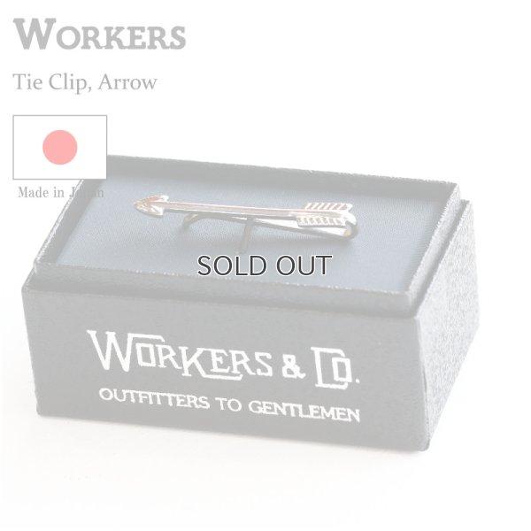 画像1: WORKERS ワーカーズ Tie Clip, Arrow タイクリップ アロー