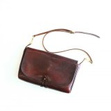 Aging sample   vasco  LEATHER 3WAY CLUTCH BAG  BROWN