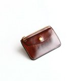 Aging sample   Vintage Works  Leather Wallet  OIL.NAT