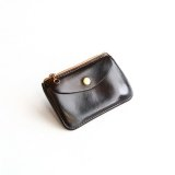 Aging sample   Vintage Works  Leather Wallet  BLACK
