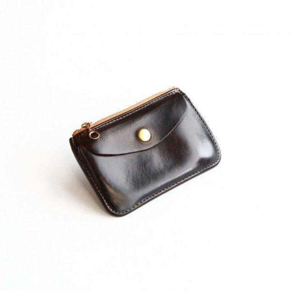 画像1:  Aging sample   Vintage Works  Leather Wallet  BLACK