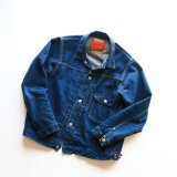 Aging sample   WORKERS  Denim Jacket, Type 1, 13.75 Oz Denim, OW