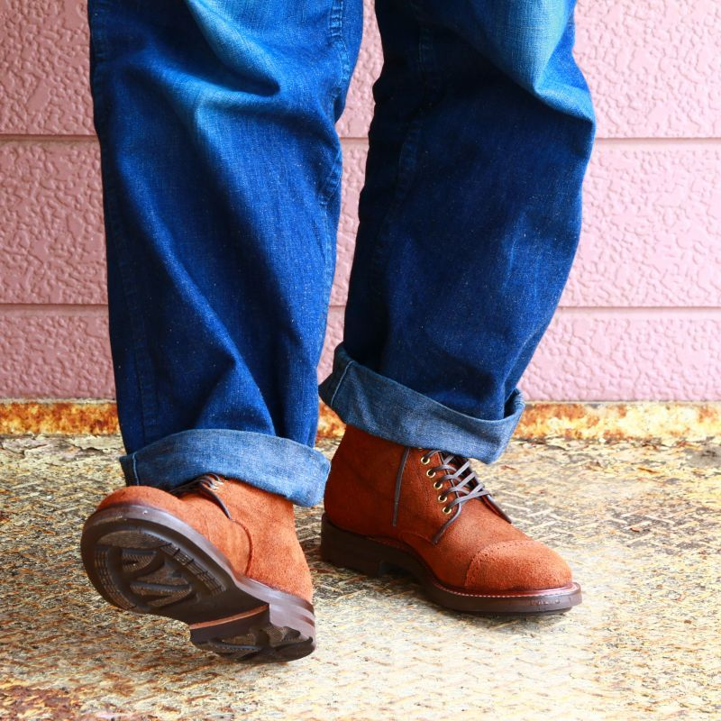 WHEEL ROBE ウィールローブ CAP TOE LACE UP BOOTS Last #314 キャップトゥレースアップブーツ