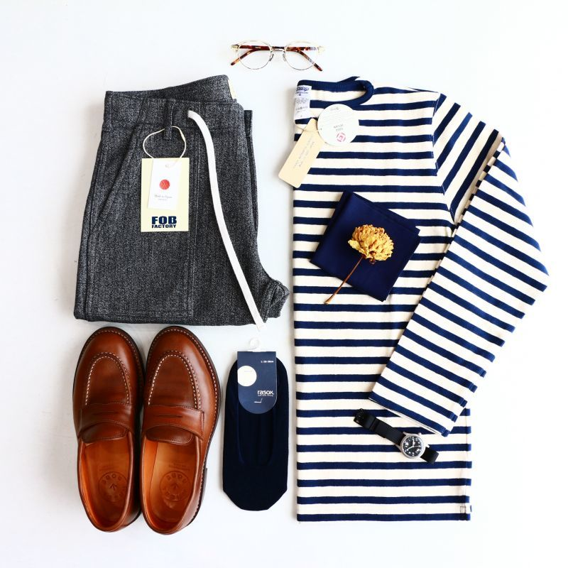 日本のバスクシャツ Tieasy Authentic Classic ティージーオーセンティッククラシック