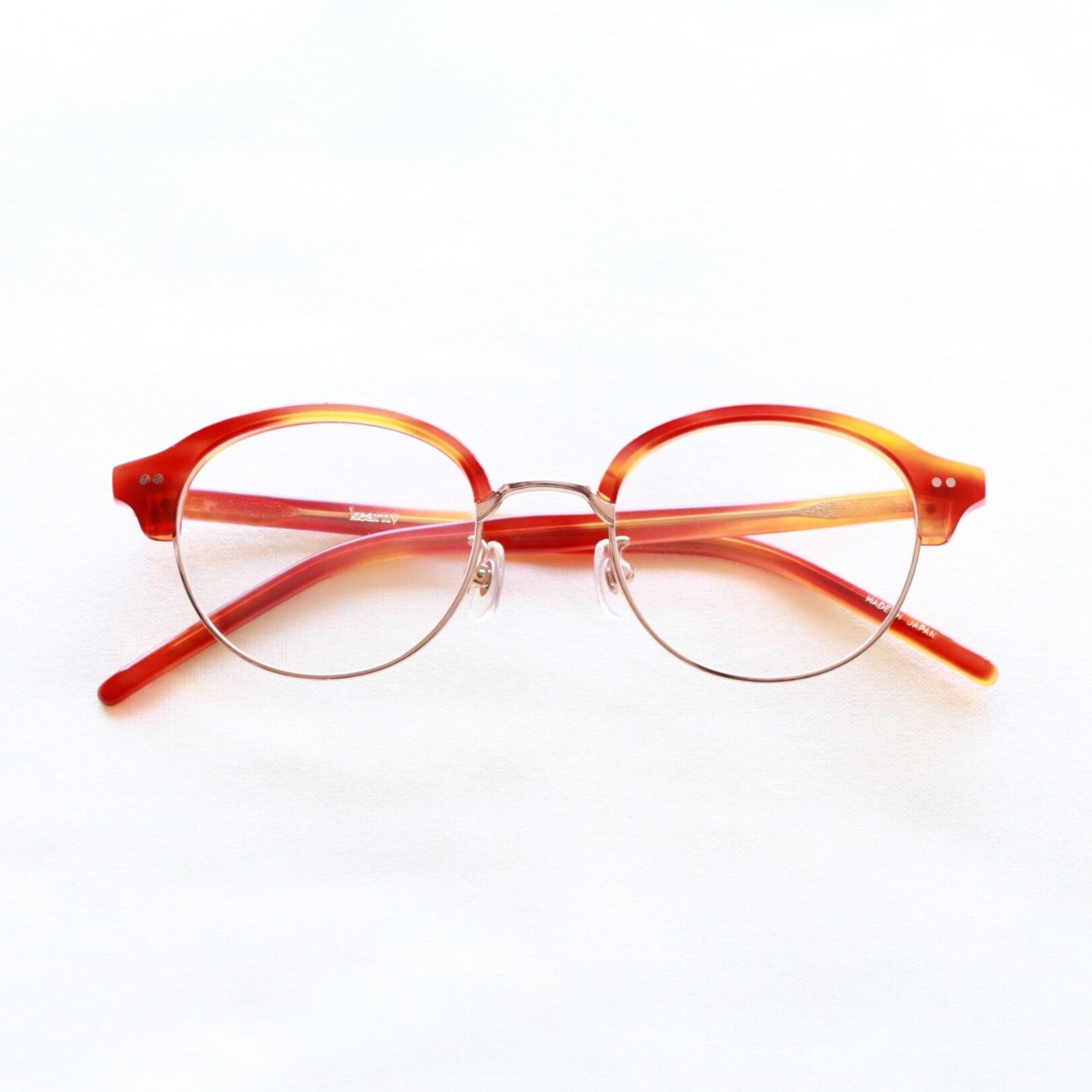 セルロイド眼鏡 kearny カーニー sirmont brow サーモントブロー