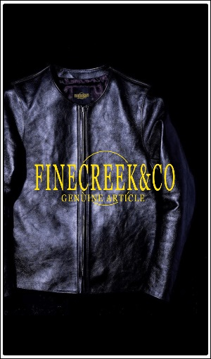 FINE CREEK & CO(ファインクリーク アンド コー)レザージャケット