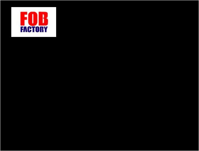 エフオービーファクトリー FOB FACTORY リラックスデニムパンツ
