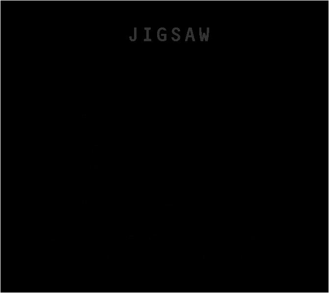 ジグソー JIGSAW キャッシュウールボーダータートルネックニット