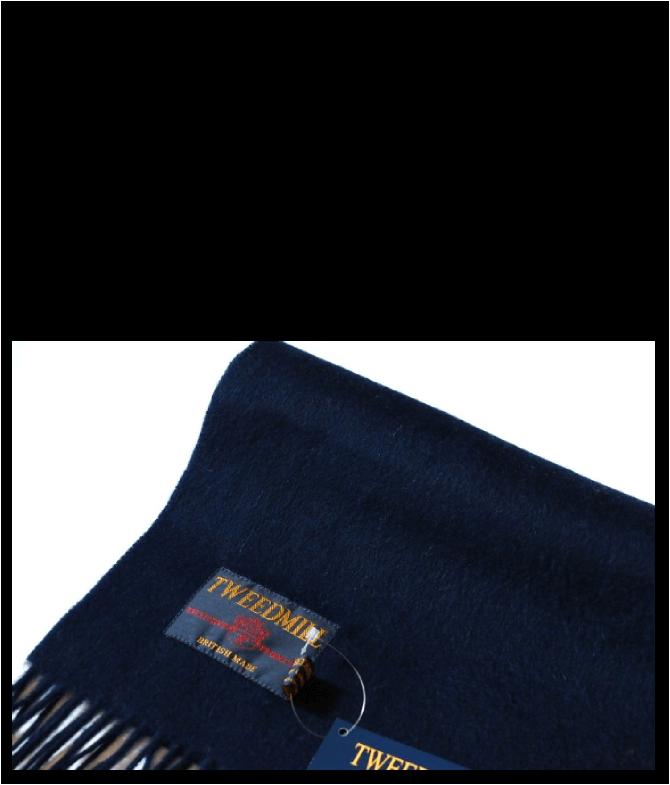 ツイードミル TWEEDMILL Wool Muffler ウールマフラー