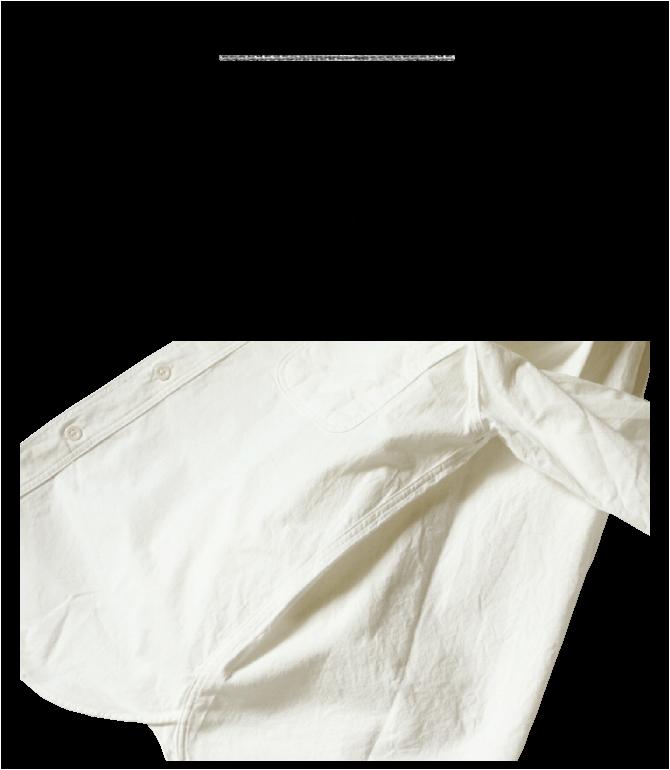 エフオービーファクトリー FOB FACTORY オックスワークシャツ