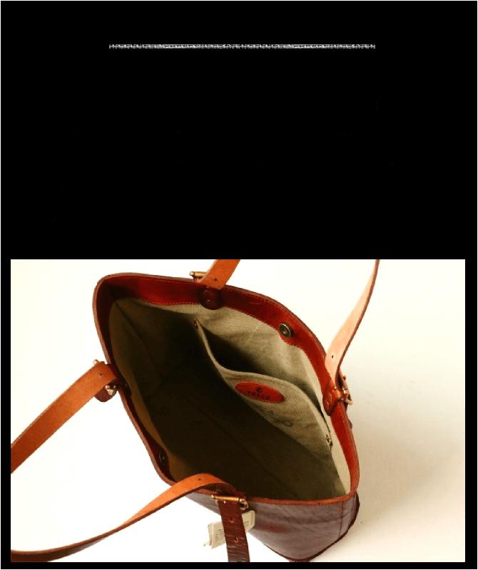ヴァスコ vasco レザートラベルトートバッグ
