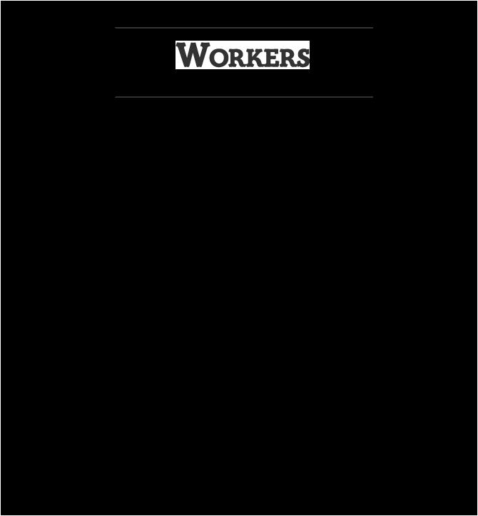ワーカーズ WORKERS Bandana-T バンダナTシャツ