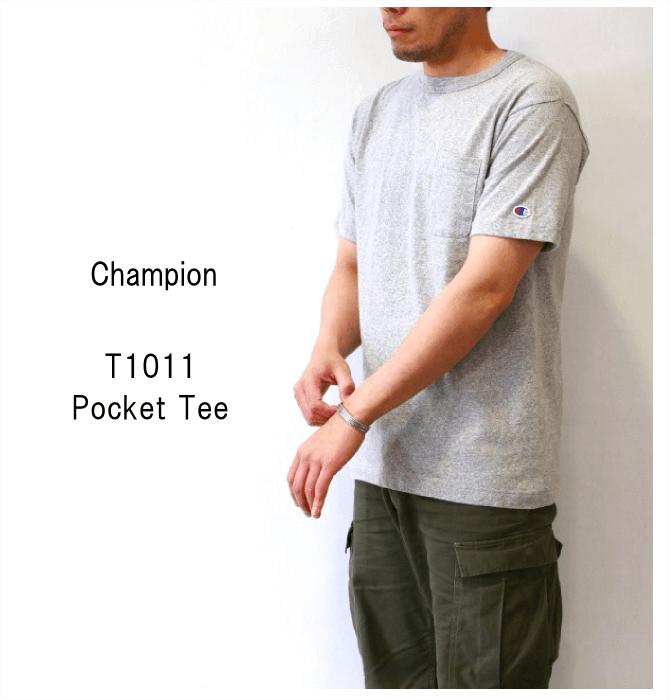 29c703a4c6814c チャンピオン【Champion】T1011 ポケットTシャツ Made in USA ...