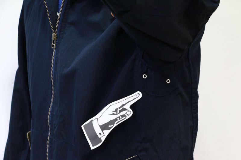 エフオービーファクトリー FOB FACTORY MARIN PARKA マリンパーカ ネイビー F2295