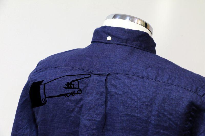SONTAKU ソンタク JAPAN LINEN DUSTY DYED BD SHIRT ジャパンリネンダスティダイボタンダウンシャツ