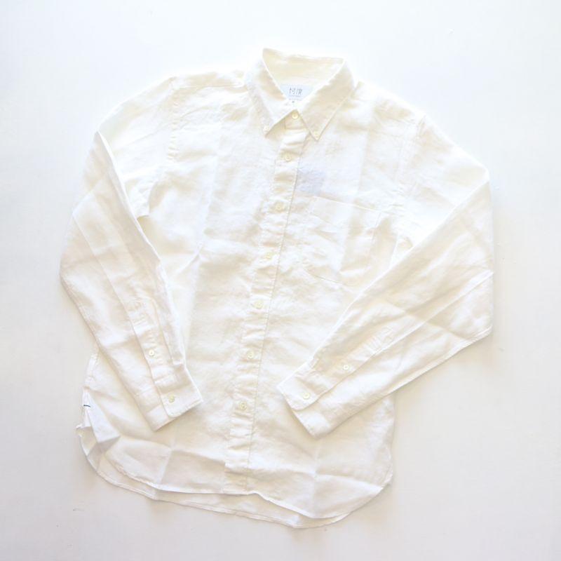 ソンタク【SONTAKU】JAPAN LINEN TWILL B.D SHIRT ジャパンリネンツイルボタンダウンシャツ