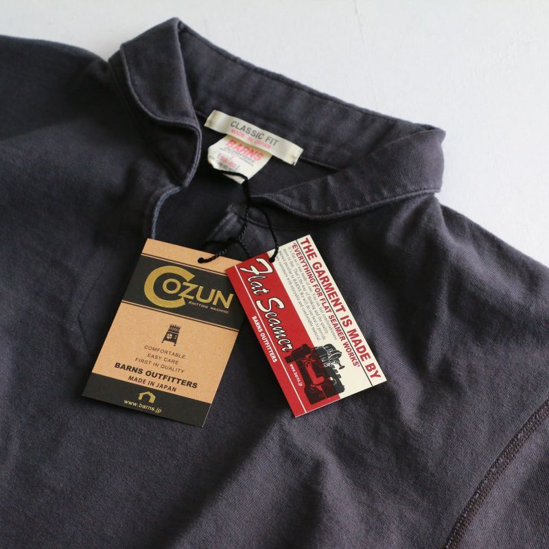 BARNS OUTFITTERS バーンズアウトフィッターズ VINTAGE SKIPPER POLO ヴィンテージスキッパーポロ