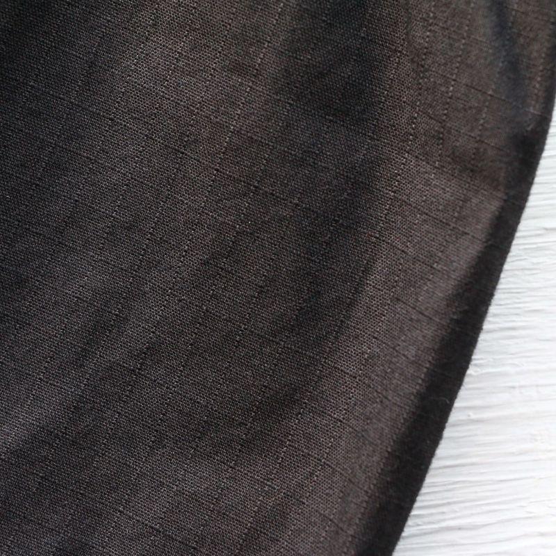 WORKERS ワーカーズ Cruiser Vest Cotton Ripstop, Black クルーザーベスト ブラック
