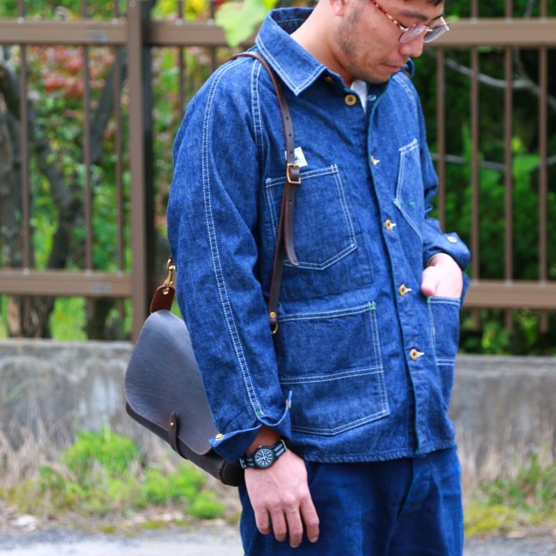 TCB jeans TCBジーンズ TCB BLACK CAT JK DENIM カバーオール デニム