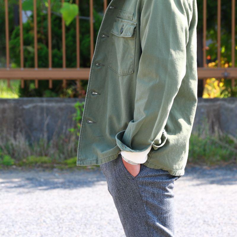 FOB FACTORY エフオービーファクトリー FATIGUE SHIRT JACKET ファティーグシャツジャケット F2362