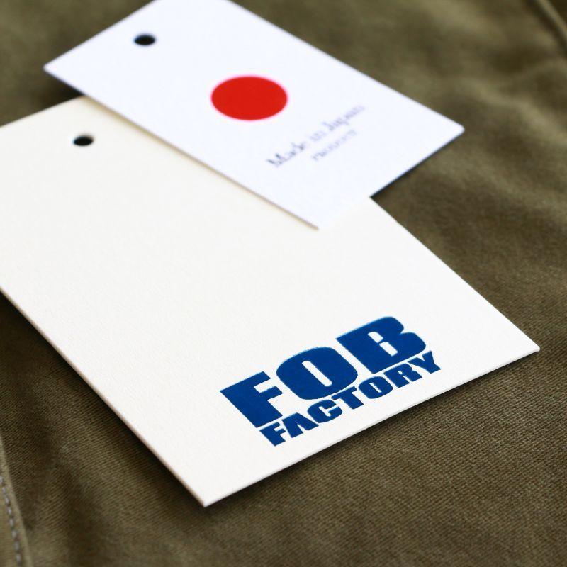 FOB FACTORY エフオービーファクトリー RIDING JACKET ライディングジャケット オリーブ F2361
