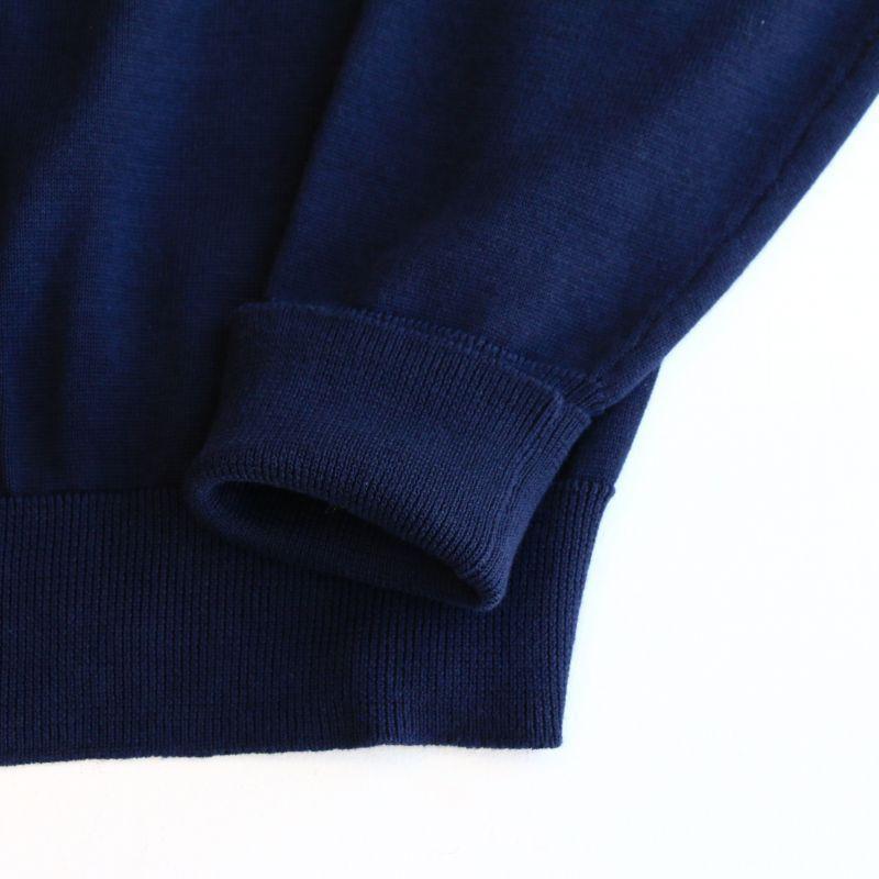 WORKERS ワーカーズ Cotton Cardigan, Navy コットンカーディガン ネイビー