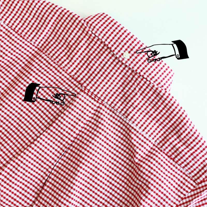 ソンタク SONTAKU Oxford gingham check b.d shirt オックスフォードギンガムチェックボタンダウンシャツ
