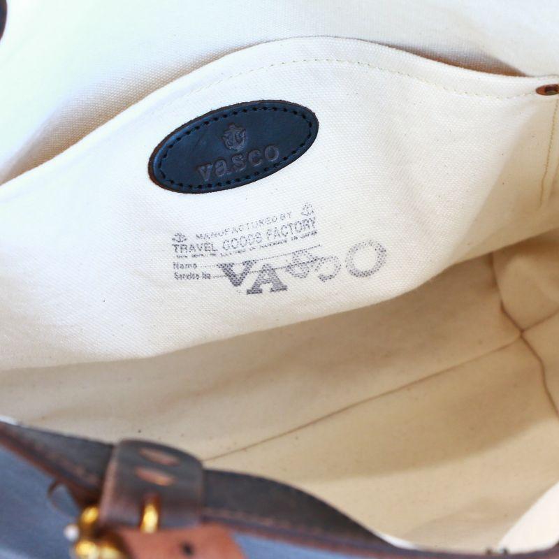 vasco ヴァスコ LEATHER TRAVEL TOTE BAG HEIGHT レザートラベルトートバッグ 縦型 VS-266L