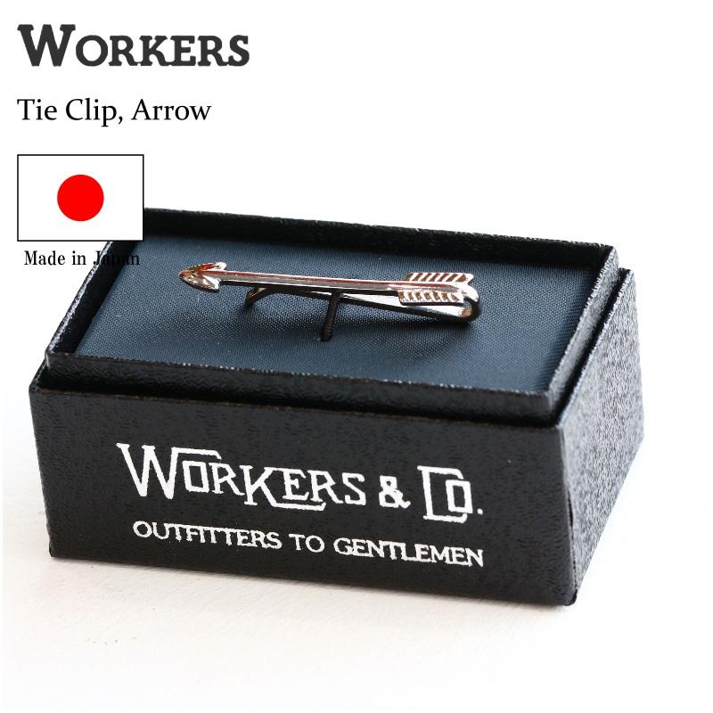 WORKERS  ワーカーズ Tie Clip, Arrow タイクリップ アロー