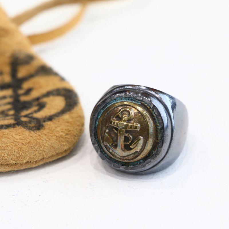 vasco ヴァスコ ANCHOR COLLEGE RING -SILVER アンカーカレッジリング シルバー