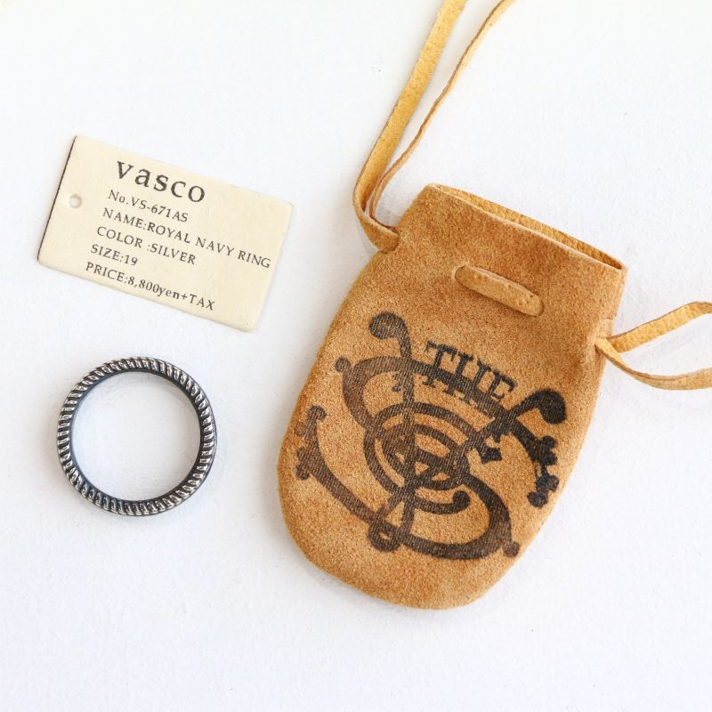 vasco ヴァスコ ROYAL NAVY RING -SILVER ロイヤルネイビーリング シルバー