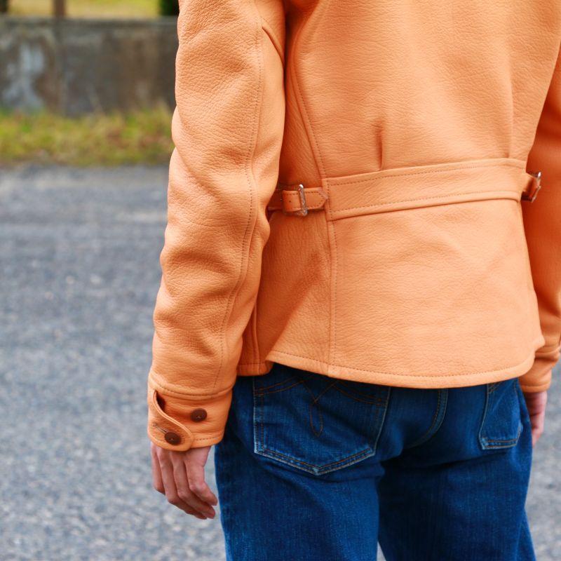 GLEEM グリーム Goat Skin Sports Jacket レザースポーツジャケット