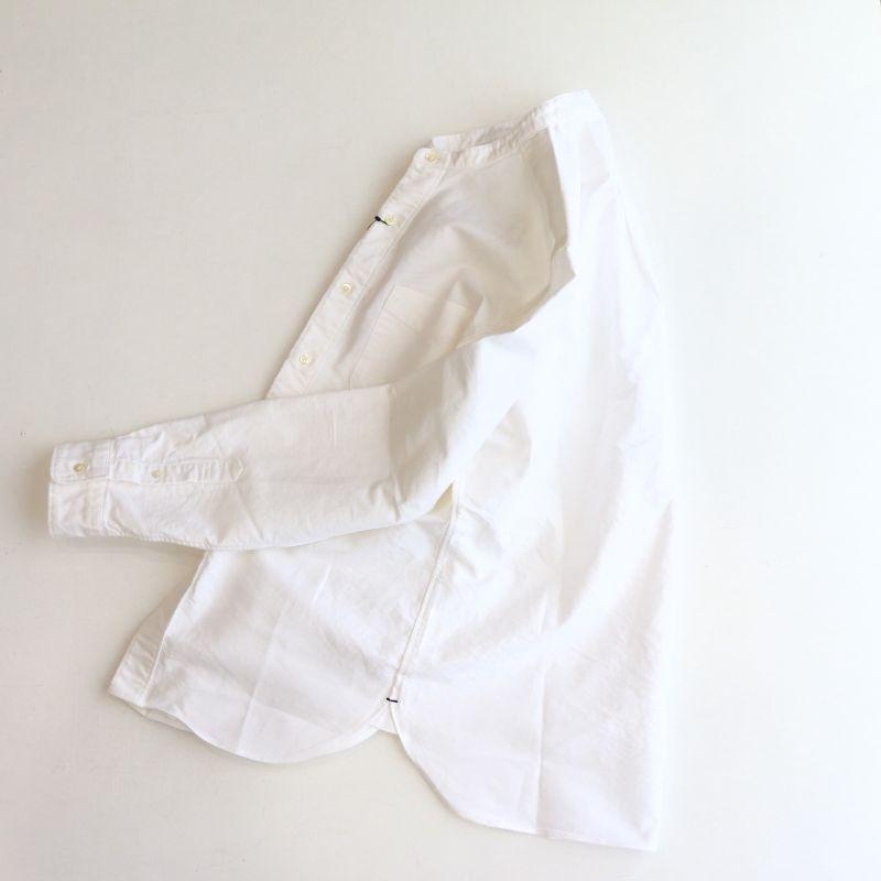SONTAKU ソンタク BAND COLLAR SHIRT オックスフォードバンドカラーボタンダウンシャツ